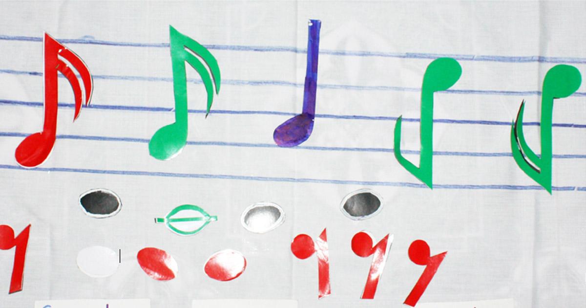 sáng tạo đồ dùng dạy học môn âm nhạc