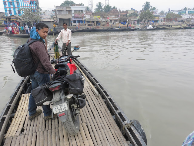 Ferry Crossing Hasnabad Ghat