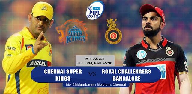 csk vs rcb live match watch online free