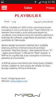 Análise MIPOW a lâmpada inteligente 12