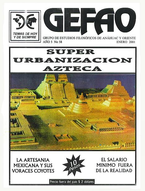 Revista GEFAO Super Urbanizacion Azteca