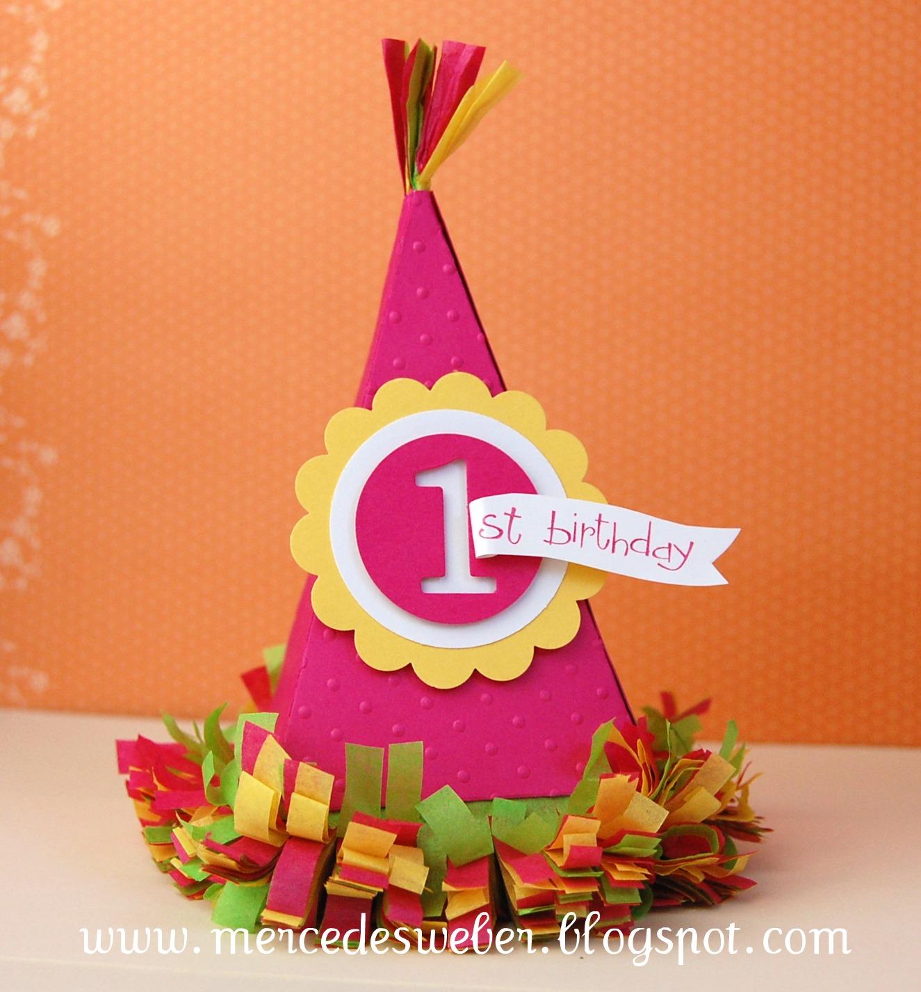 Petal Cone Birthday Hat