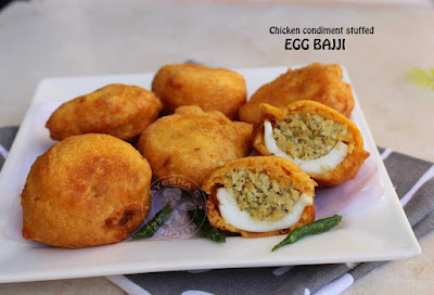 stuffed egg pakoda chicken mince stuffed egg bajji mutta bajji mulaku bajji ulli bajji bajji recipes egg snacks ayeshas kitchen recipes
