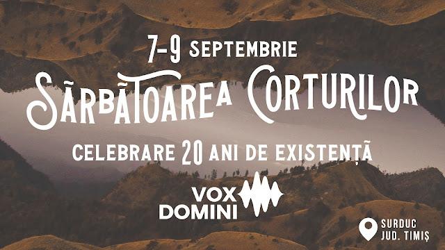 Sărbătoarea Corturilor la Biserica Vox Domini