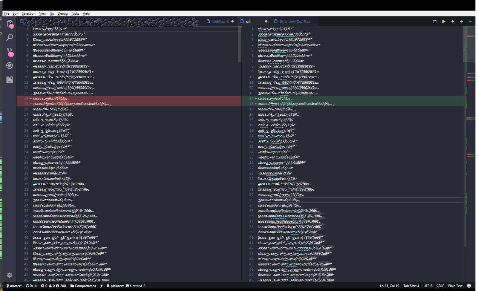 compare two files in visual studio code   an enthusiastic
