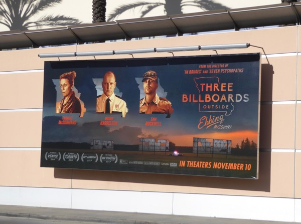 Three Billboards Outside Ebbing Missouri ad
