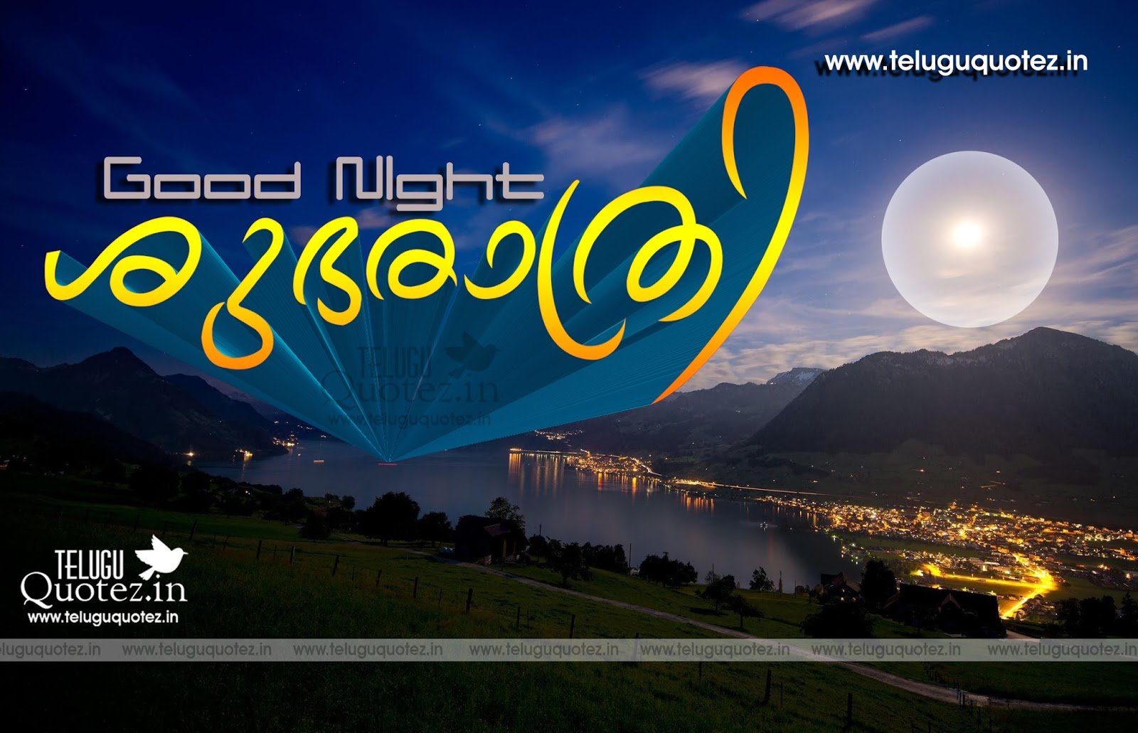 Malayalam Good Night Quotes Wallpapers Teluguquotezin Telugu
