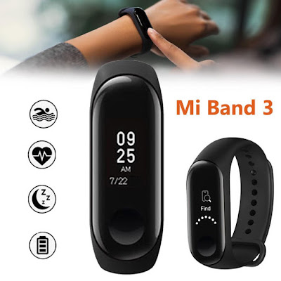 Smartwatch besutan Xiaomi yaitu Mi Band 3