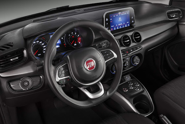 Fiat Argo 1.3 GSR - Interior