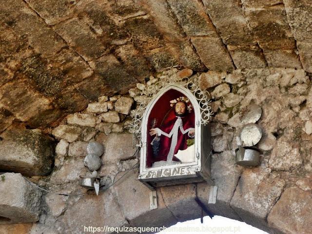Castelo de Miranda del Castañar, Porta de San Ginés