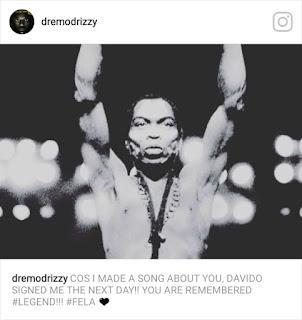 What made Davido sign Dremo to DMW