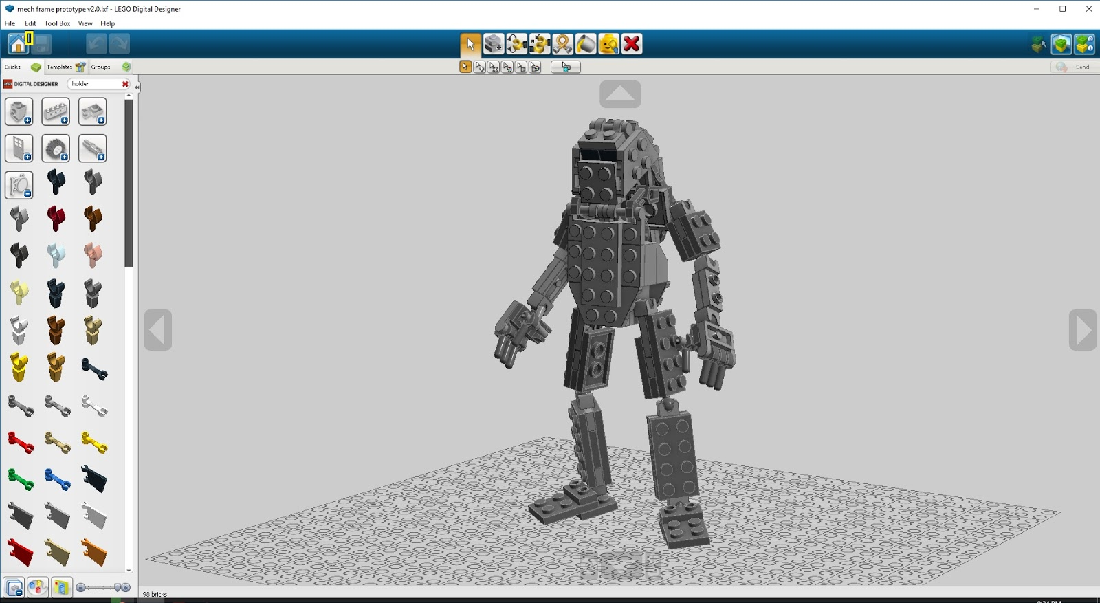 Nothing But Brick Mech Frame Updates With A Little Help From Ldd