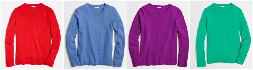 J. Crew Factory Cotton Wool Teddie Sweater for only $10-$17 (reg $60)