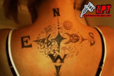 Tatuaje FAIL : Puntos cardenales