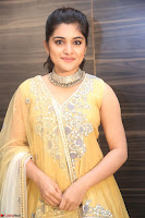 Nivetha Thamos in bright yellow dress at Ninnu Kori pre release function ~  Exclusive (64).JPG