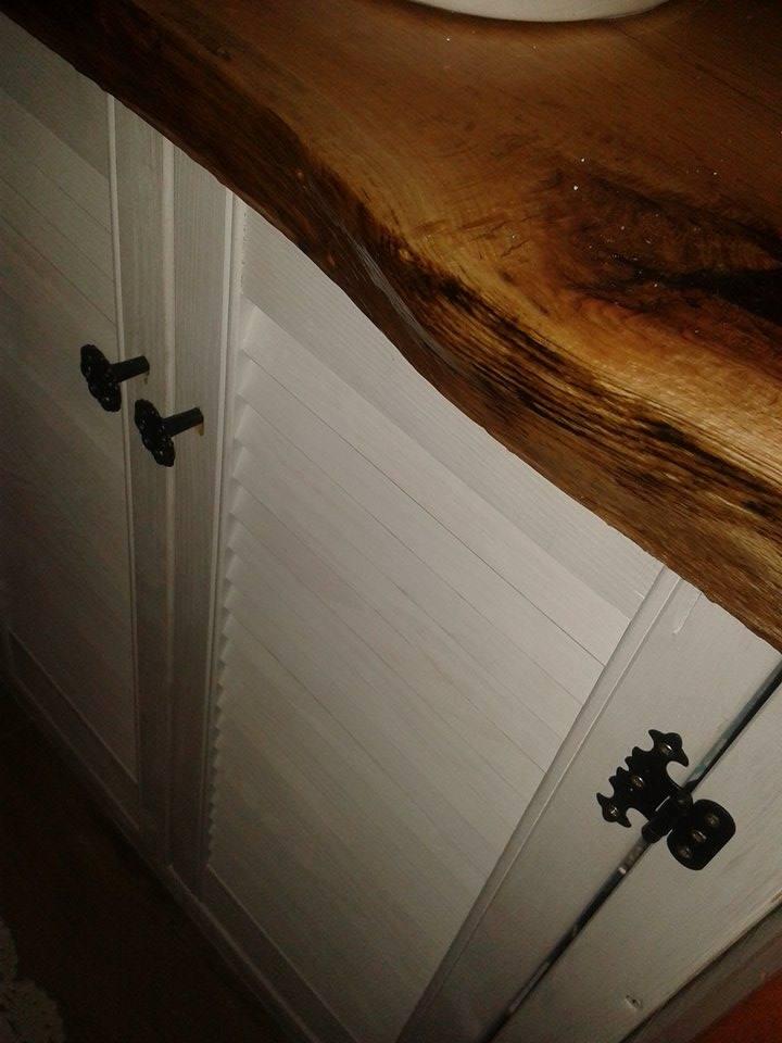 Stary Kredens Tworzone Z Pasji łazienka W Retro Stylu