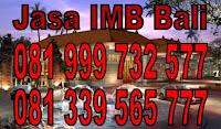 jasa IMB Denpasar Badung Tabanan Gianyar Bali