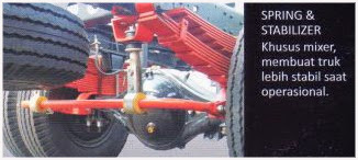 truk hino mixer 3 kubik surabaya