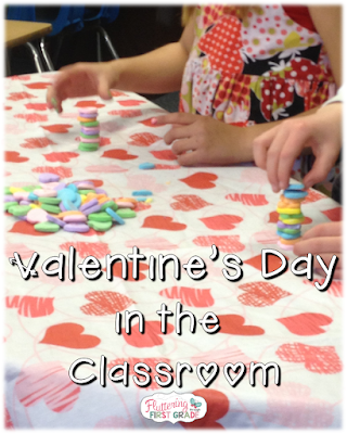 Valentine's Day in the classroom