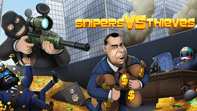 """Snipers-vs-Thieves-Cover Snipers vs Thieves 1.2.12584 - Action Games """"Thieves and Snipers"""" Android + Mods Apps"""