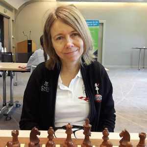 Pia Cramling, échiquier n°1 de l'équipe de Monaco au Top 12 féminin - Photo © Chess & Strategy