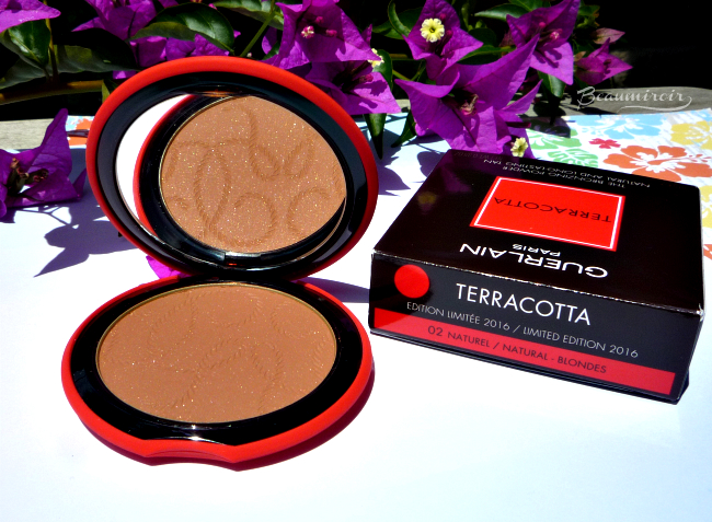 Review, photos, swatches of Guerlain My Terracotta Summer 2016 bronzer