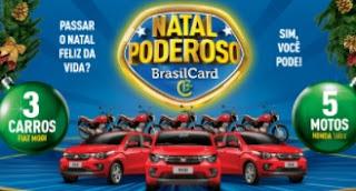 Cadastrar Promoção BrasilCard Natal 2017 Poderoso Carros Motos
