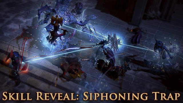 Siphoning Trap disponible en Path of Exile desde level 10!