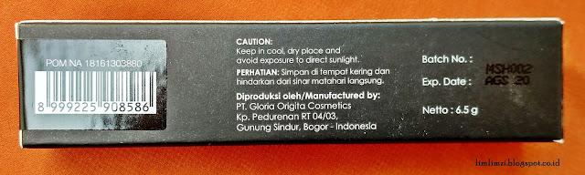 Purbasari Hi-Matte Lip Cream Hydra Series