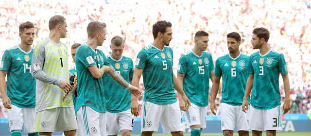 Five reasons for Germany's historic exit from Russia FIFA World Cup 2018