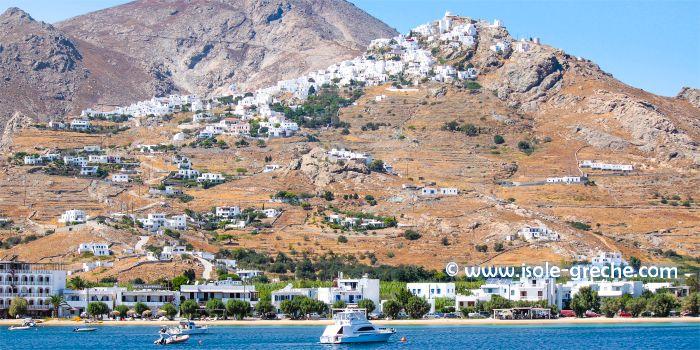 Livadi, porto di Serifos, isola della Cicladi
