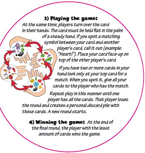 Moral Blogger's Useful Stuff!: Spot It Card Game Rules