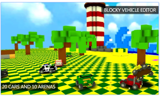 Blocky Demolition Derby Mod Money
