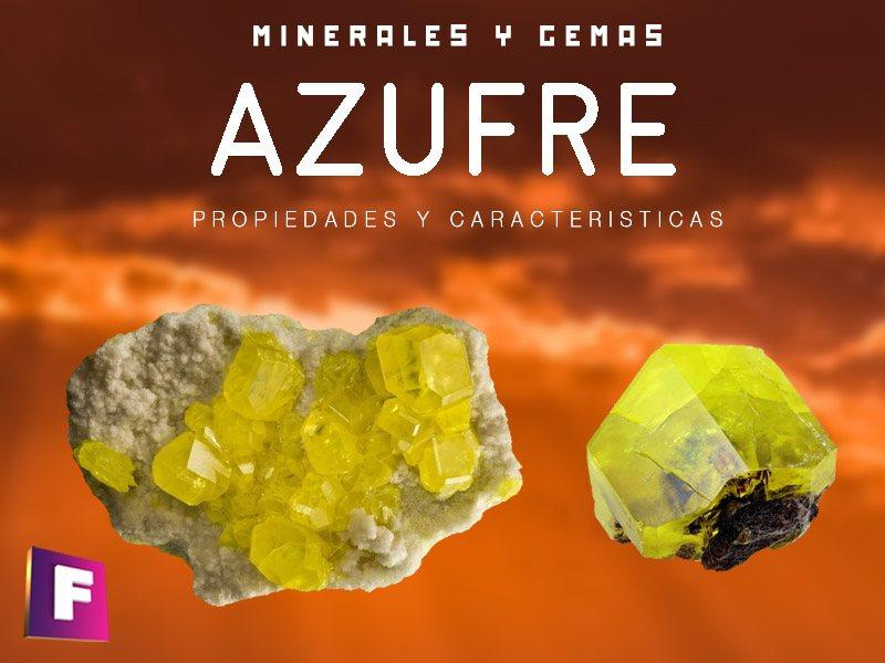 azufre propiedades caracteristicas y sus usos industriales | foro de minerales