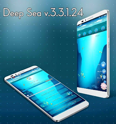 Download BBM CHAT ME - Deep Sea Theme v1.2.3 Mod Apk Update Terbaru for Android Gratis