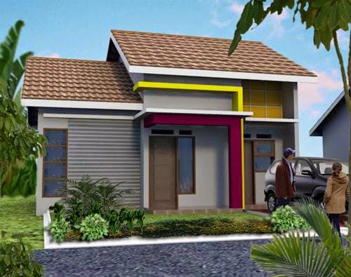 Desain Rumah Minimalis 1 Lantai Type 45 & Desain Rumah Minimalis 1 Lantai Type 45 | Desain Rumah Minimalis