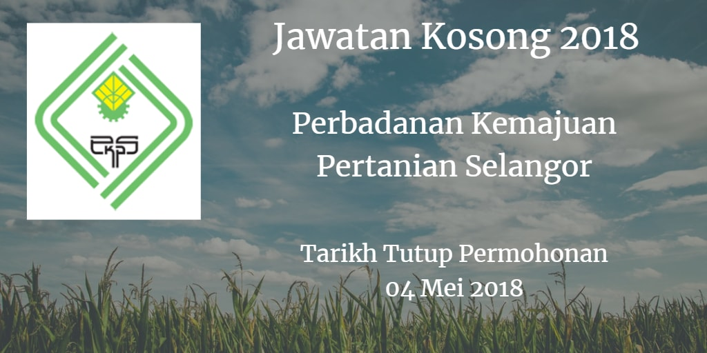 Jawatan Kosong PKPS 04 Mei 2018