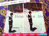 Stiker, skotlet atau garskin skin Xiomi redmi note 2 custom