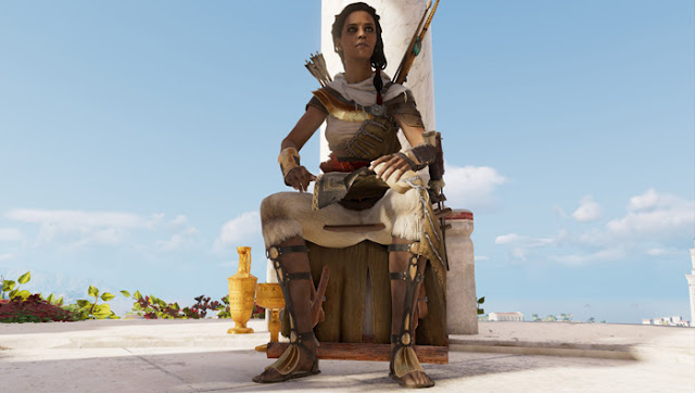 Assassin's Creed origins Aya feet