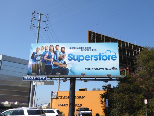 Superstore season 2 billboard