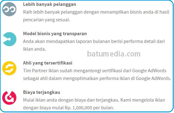 Kelebihan Partner Iklan