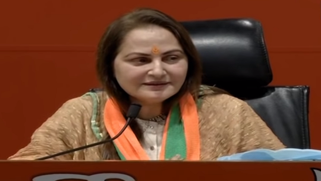 Actress Jaya Prada Joins BJP