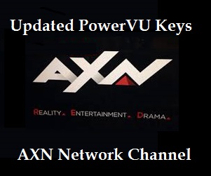 AXN Network PowerVU Keys on Apstar.7@76.5E