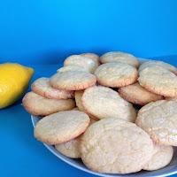 Biscoitos fofos de limão