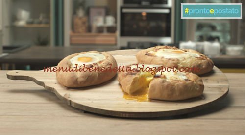 Pronto e postato - Khachapuri ricetta Benedetta Parodi