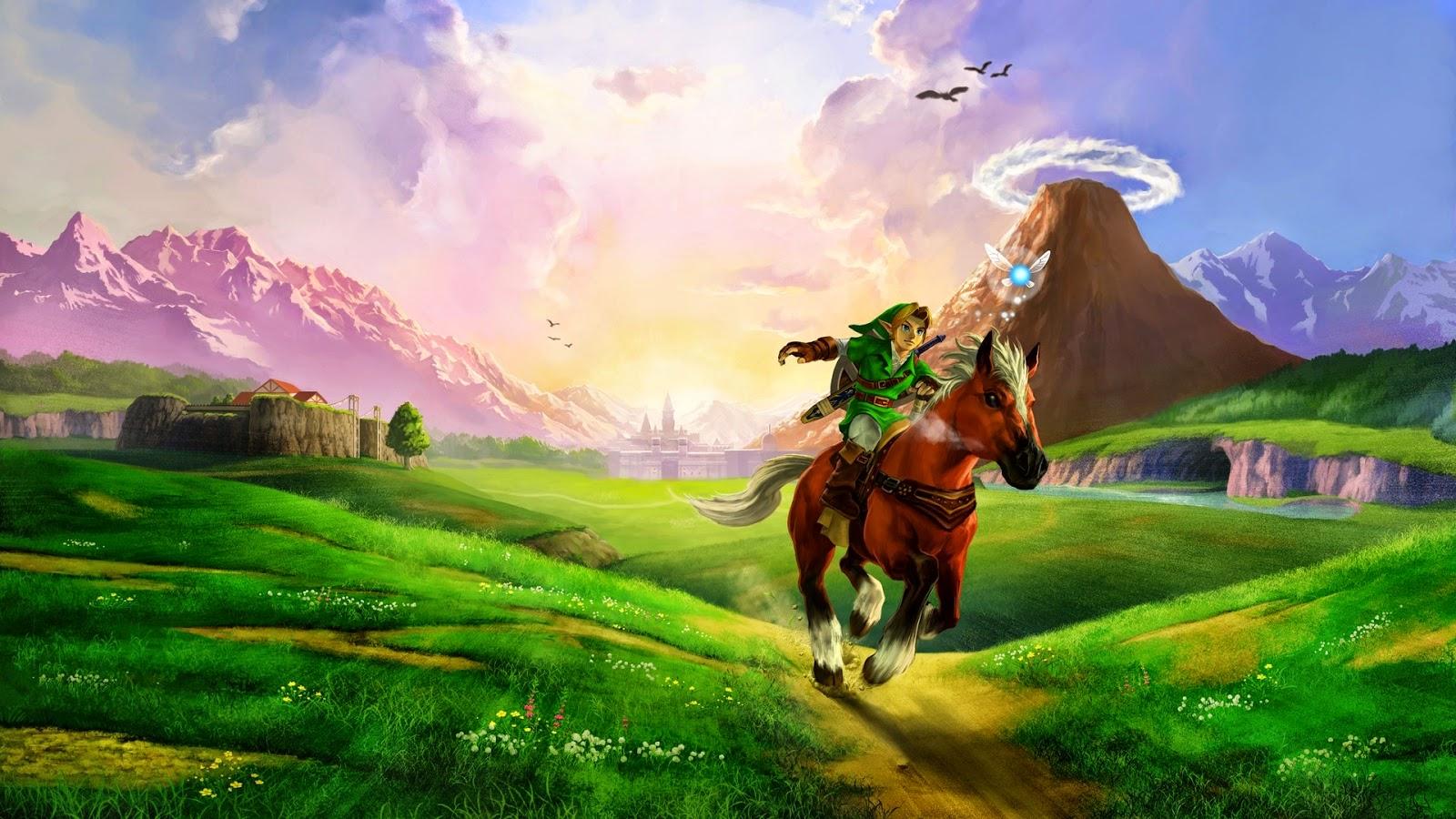 8-Bit Girl: Zelda Intros