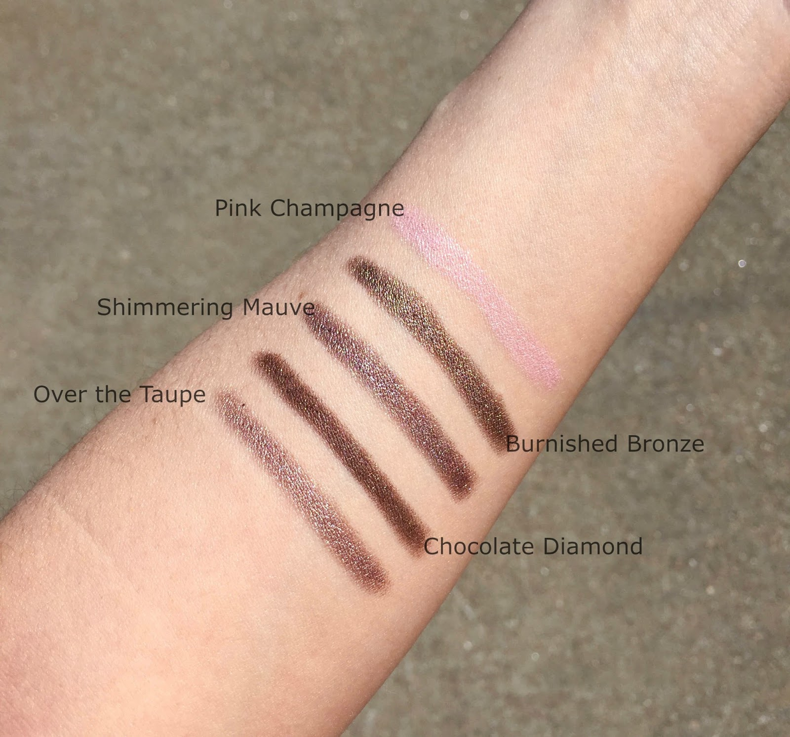 Mally Shadow Sticks with Swatches