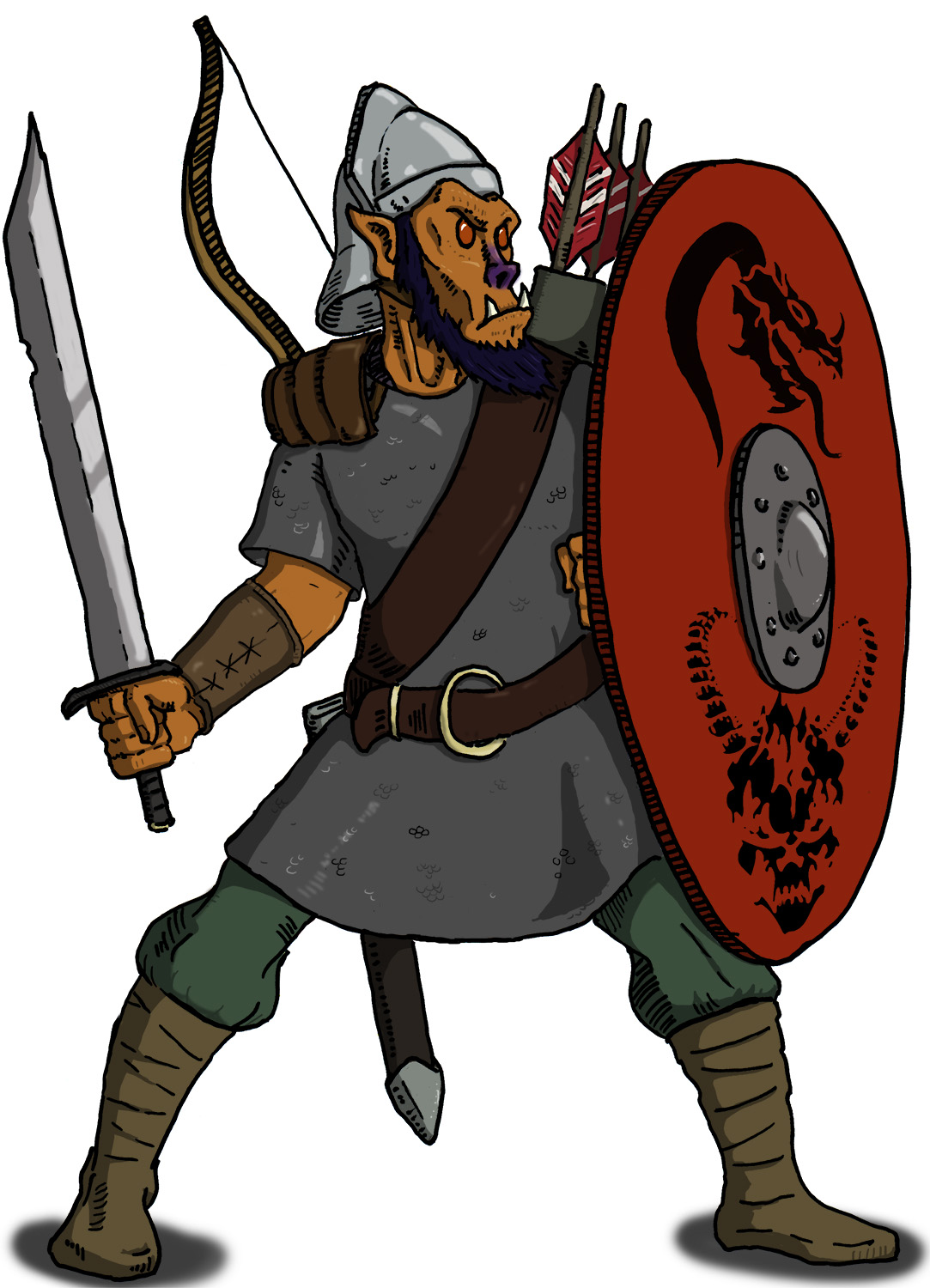 D&D Basic Monsters: Hobgoblin
