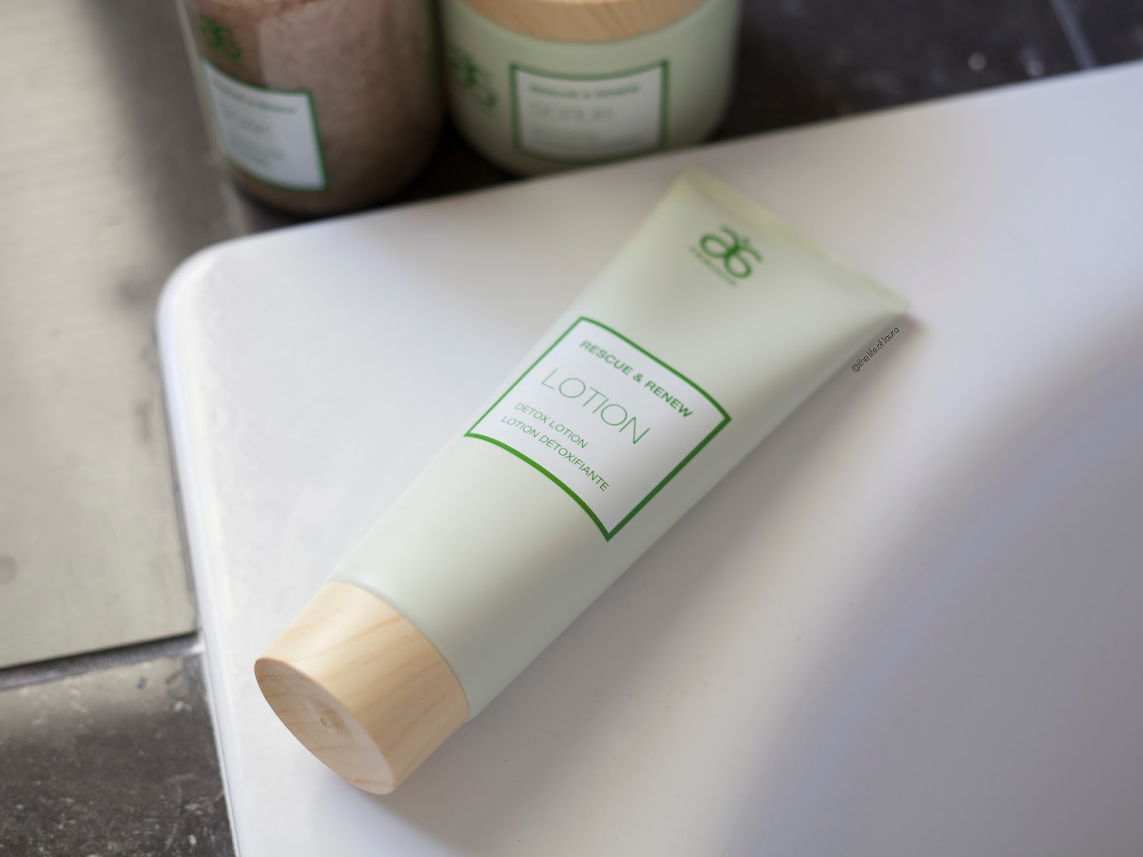 Arbonne Rescue and Renew Detox Body Lotion