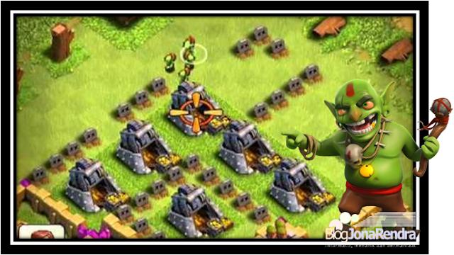 Mencari Loot Farming dengan Goblin Clash Of Clans jonarendra